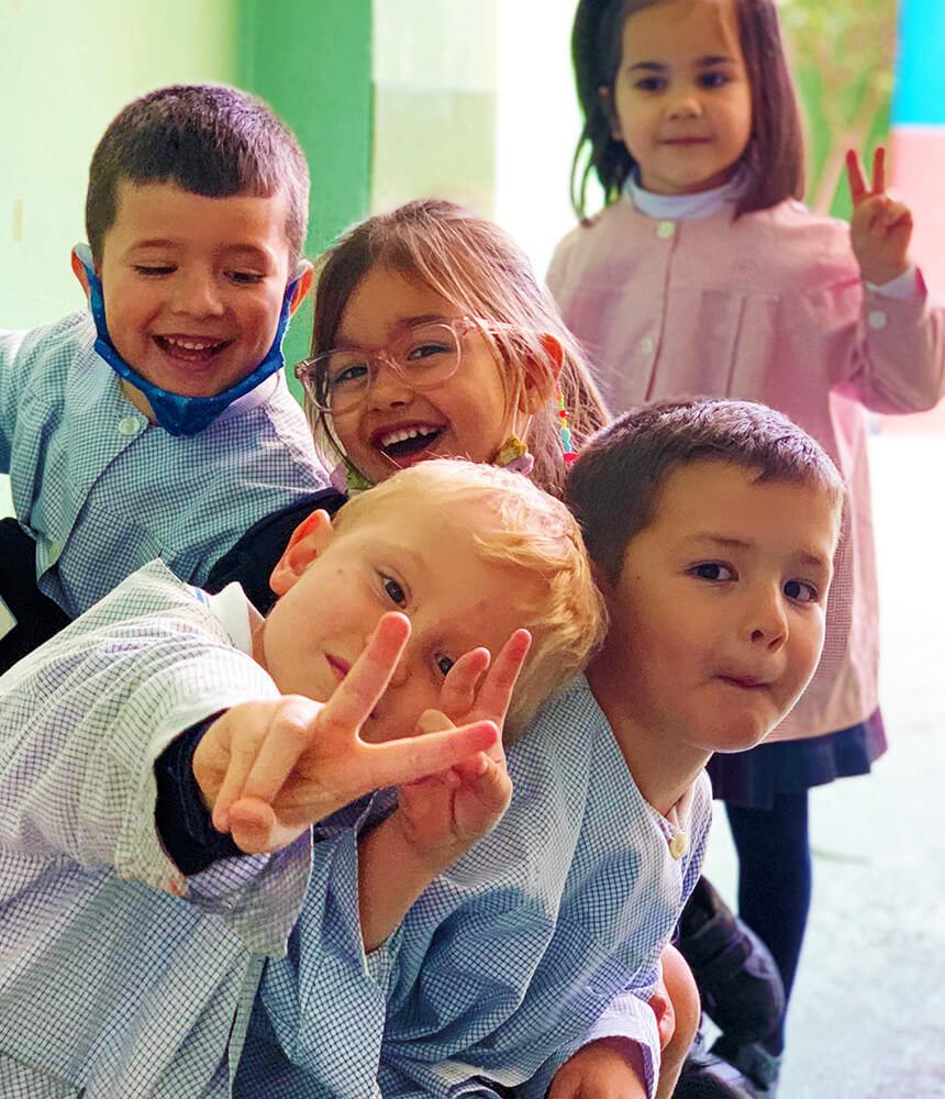 niños de educación infantil